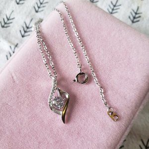 Flash sale💥Gift set❣925 Silver Crystal Necklace